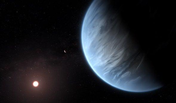 العثور على المياه للمرة الأولى على كوكب صالح للحياه خارج نظامنا الشمسي