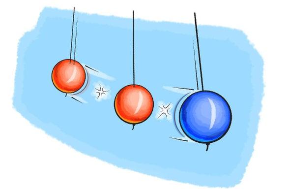 اصنع لعبة مصممة لإحداث تصادمات