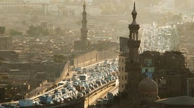 ركاب السيارات في القاهرة يتعرضون لمستويات خطيرة من التلوث