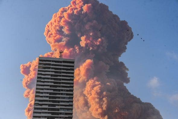 انفجار بيروت: رحلة الغازات السامة وآثارها الضارة على البيئة