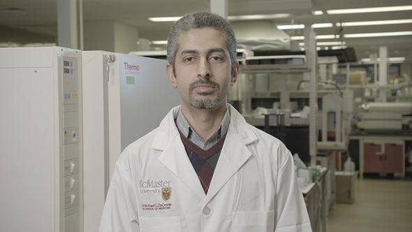 عمر الحلفاوي.. الباحث في دُنيا المضادات الحيوية
