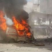 هجمات متعمدة على سيارات الإسعاف في سوريا