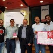 طلاب مصريون يفوزون بجائزة