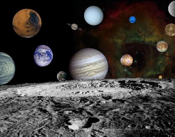 الكالسيوم يكشف سر تشابه الأرض والقمر
