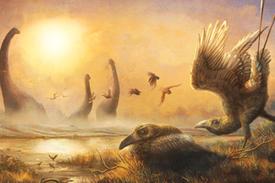 طار فوق عش الديناصورات