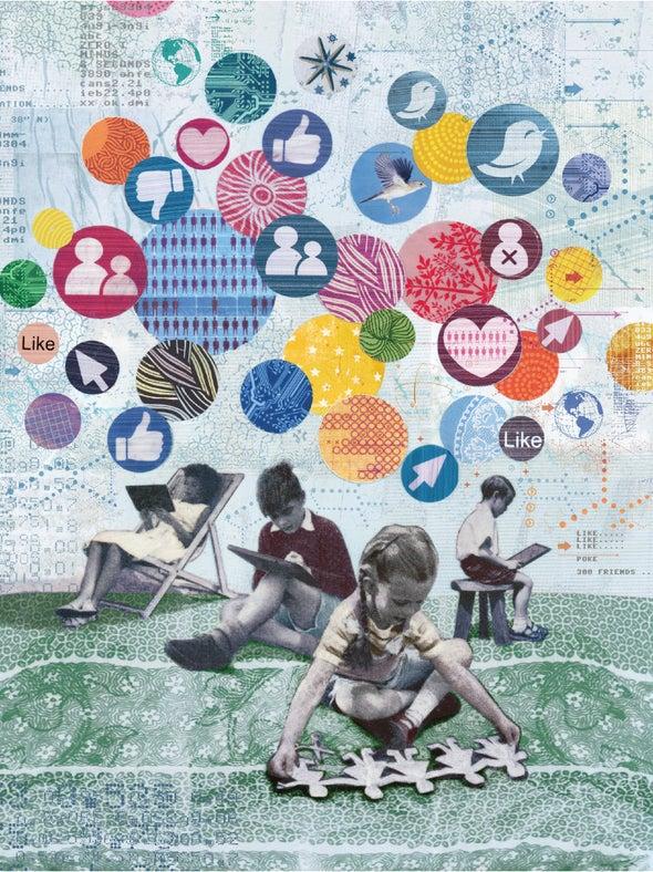 تكنولوجيا التواصل الاجتماعي تمزق الروابط الاجتماعية