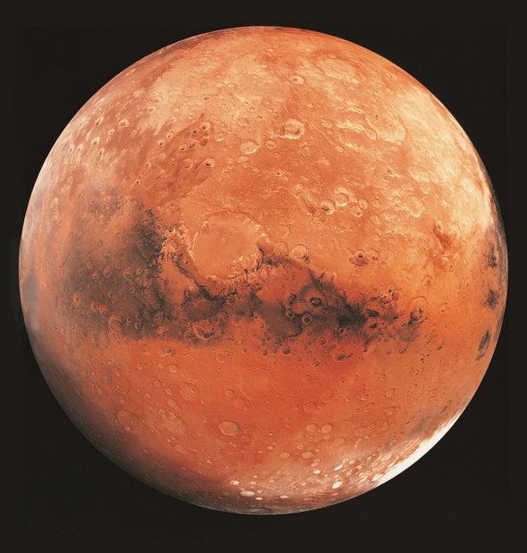 قيعان الفوهات قد تكون مهدَ الحياة على المريخ