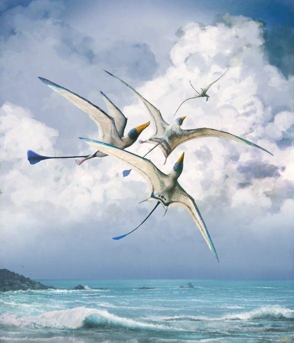 رحلة الزواحف من الأرض إلى السماء عبر ملايين السنين