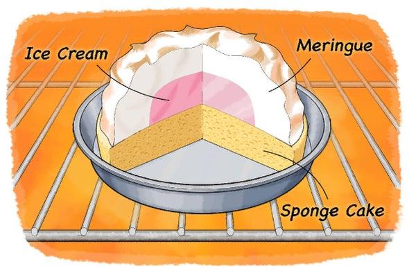 هل يمكنك خبز الآيس كريم؟