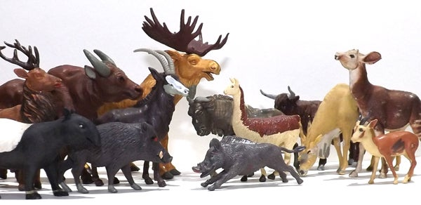 An Ode To Britains Toy Animals Scientific American Blog Network