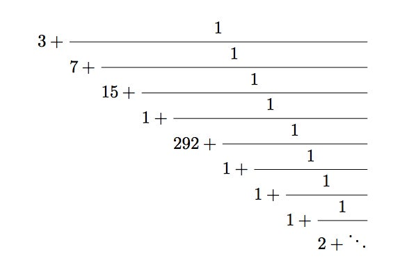 What's so Great about Continued Fractions? - Scientific ...