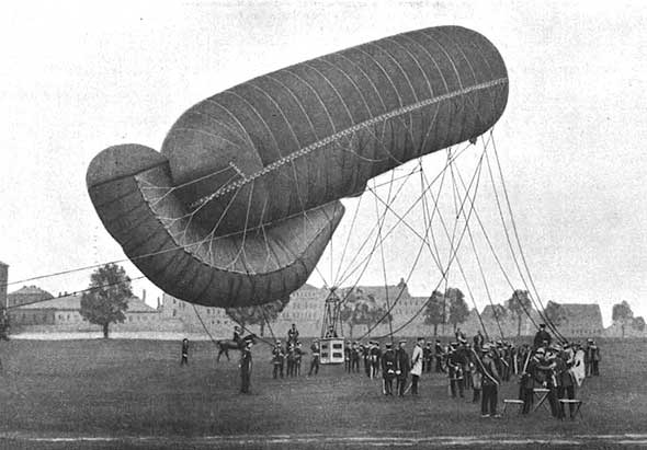 Image result for observation balloon