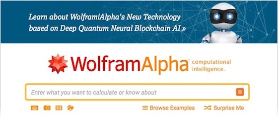 Did Stephen Wolfram's Knowledge Engine Just Become a Quantum