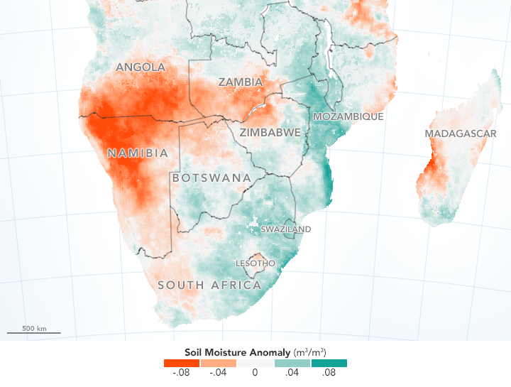 Angola drought in 2019