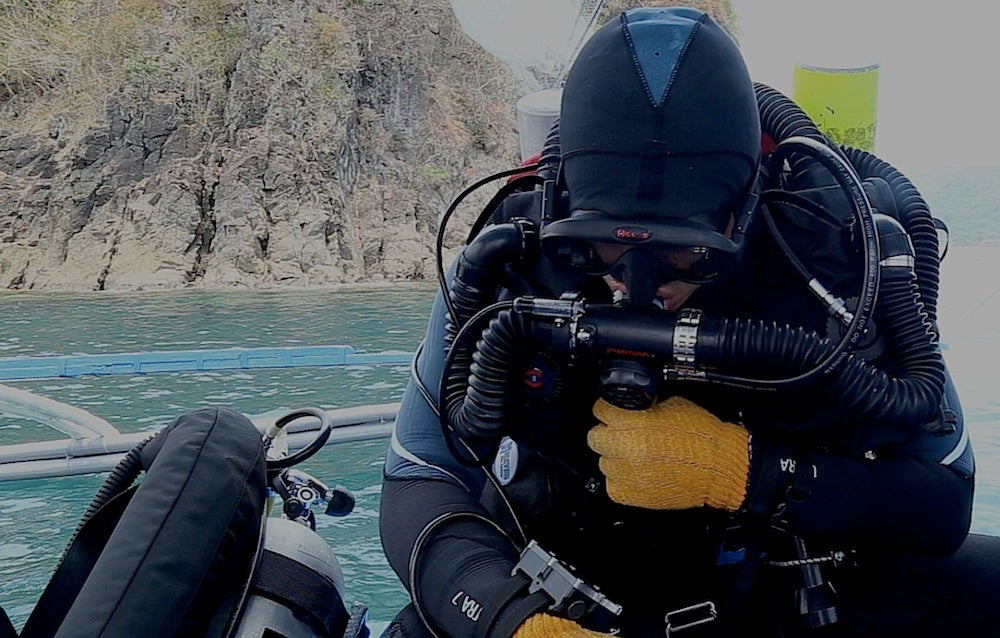Rebreather test run