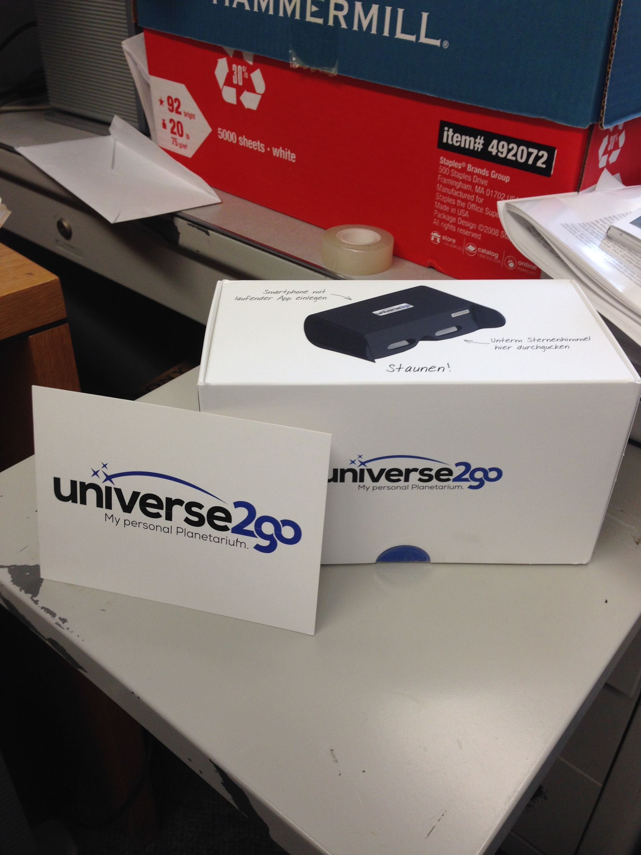 An Augmented Reality Planetarium: Take the Universe with You (Review