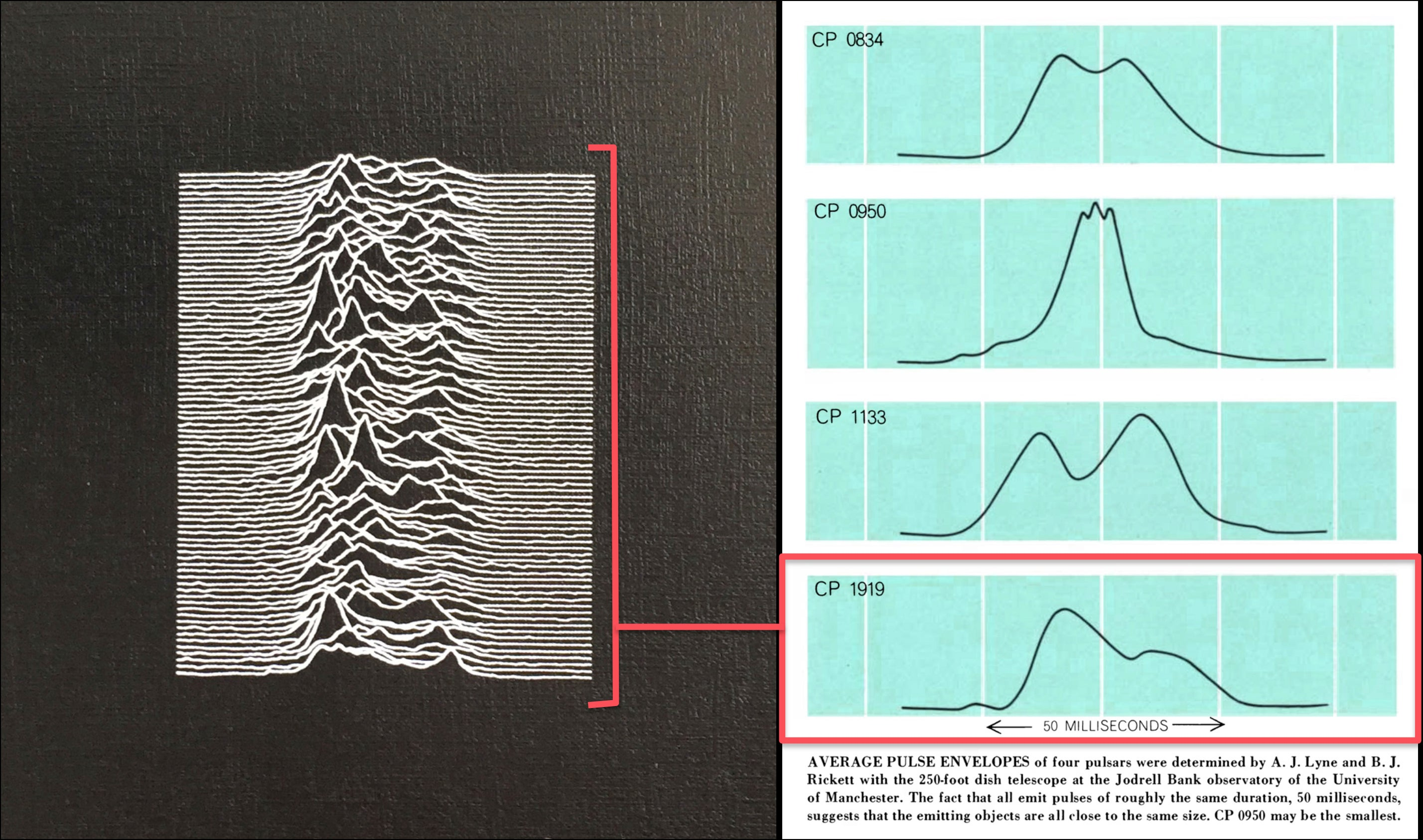 Pop Culture Pulsar: The Science Behind Joy Division's
