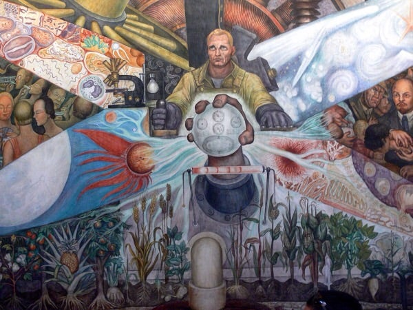 "Diego Rivera's ""Man, Controller of the Universe"""