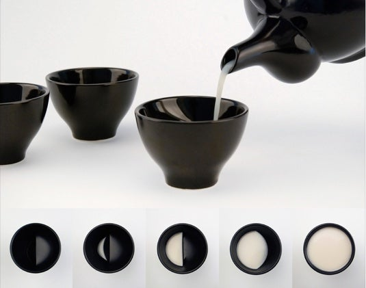 Moon Tea Set via Colossal