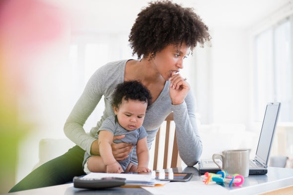 How Work-Family Justice Can Bring Balance to Scientist Moms