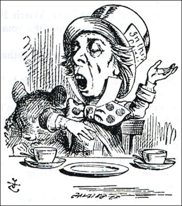 A Maddening Tea Party