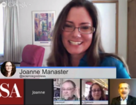A Great Year for SciAm Google Hangouts!