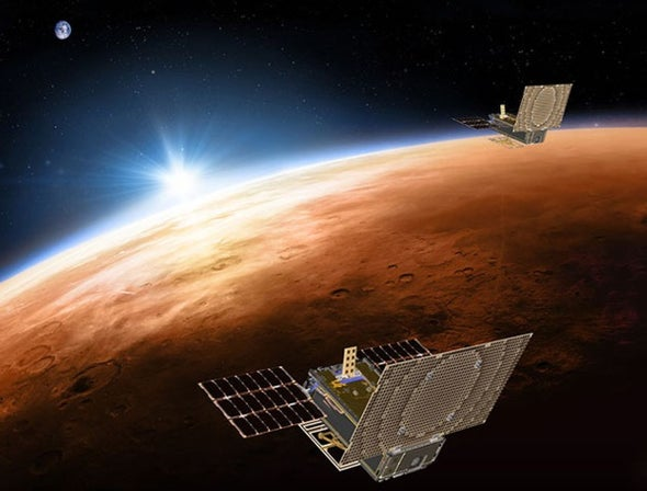 Interplanetary CubeSats Are Go!