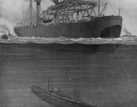 Rescuing the Drowning Submarine, 1915