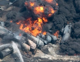 Guest Post: Exploding Oil Trains - Should we worry about the train or its cargo?