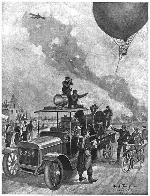 Eyes in the Sky, 1915