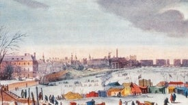 """""""Frost Fairs,"""" the Little Ice Age and Climate Change"""