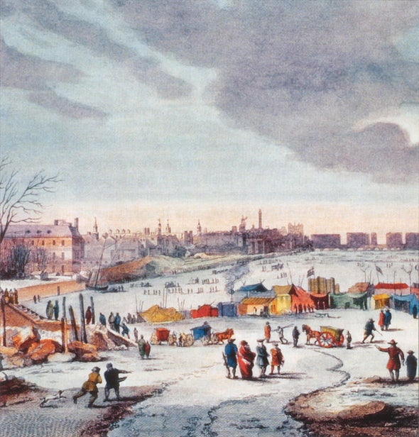 """Frost Fairs,"" the Little Ice Age and Climate Change"