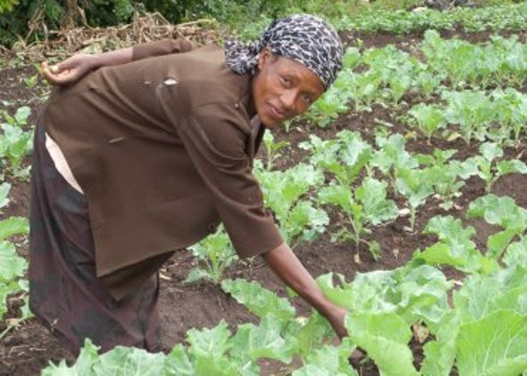 In Kenya, Improving Food Security and HIV Outcomes through Farming