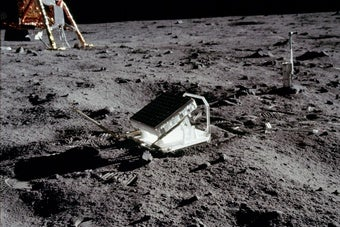 The Simplest and Most Successful Experiment Onboard Apollo 11