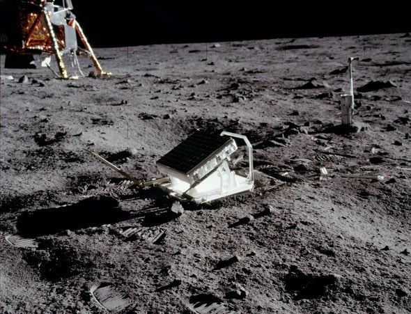 The Simplest and Most Successful Experiment aboard Apollo 11