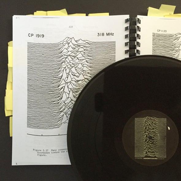 Pop Culture Pulsar: The Science Behind Joy Division's <i>Unknown Pleasures</i> Album Cover