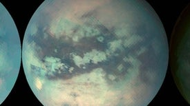 Guess the Rain's down on Titan