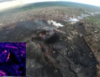 Kilauea Isn't Erupting (at the moment), but the Science Goes On