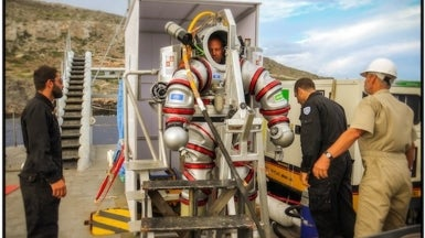 Return to the Antikythera Shipwreck: The Exosuit's First Mission