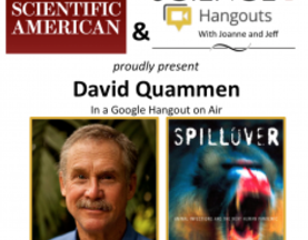 David Quammen on SciAm/Read Science! Chat
