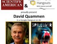 David Quammen on SciAm/Read Science! Chat