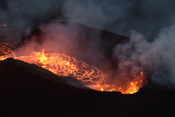 A Dramatic Year for Kilauea Volcano