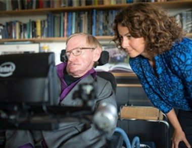 Intel Upgrades Stephen Hawking's Portal to the World