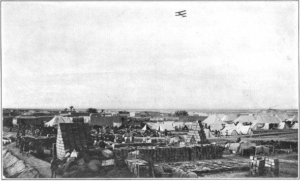 Aerial Resupply Invented, 1916