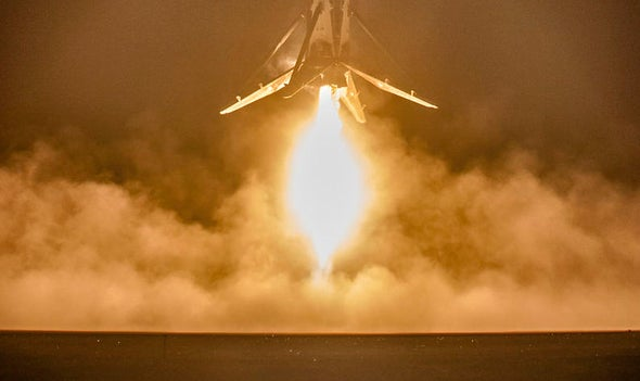 Unreal Video from Latest SpaceX Rocket Landing