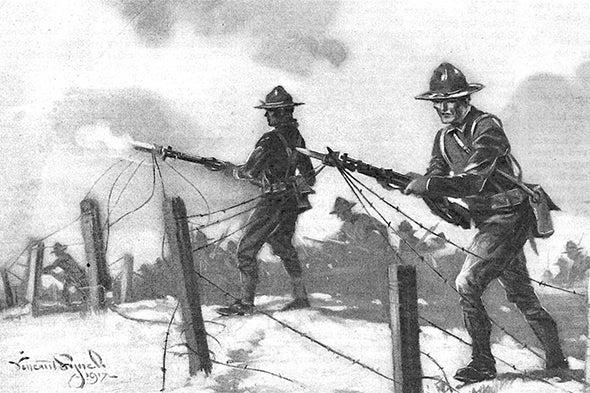 Cringeworthy Ideas for Trench Warfare, 1917
