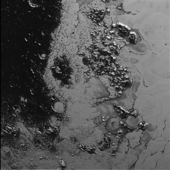 Pluto's Barnacled Beauty