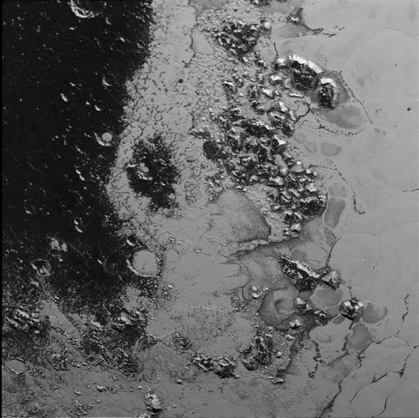 Pluto's Barnacled Beauty