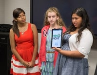 Middle Schoolers Develop App to Help Visually Impaired