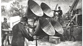 Electronic Ears for Air Defense, 1915